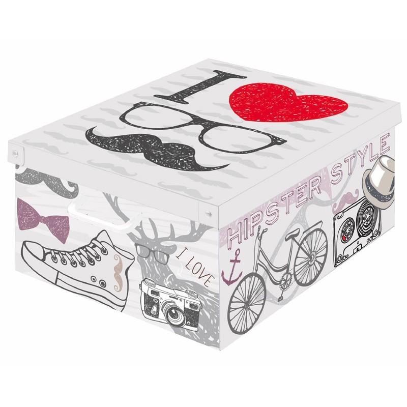 boite de rangement carton collection trendy décor London