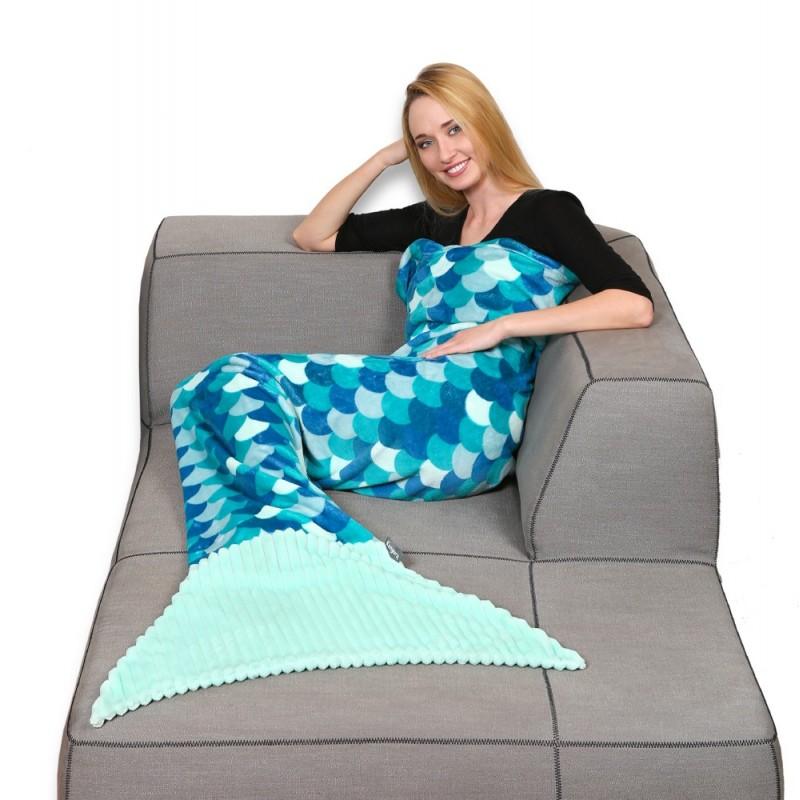 Plaid polyester siréne