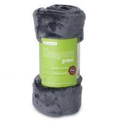 Plaid kanguru green polyester recyclé