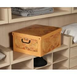 boite rangement carton, décor Marco Polo