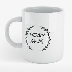 Mug céramique merry x-mas