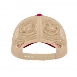 Casquette VENTURA COLLECTION navy-rouge-beige vue arrière
