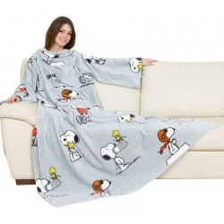 couverture à manches Deluxe snoopy en polyester